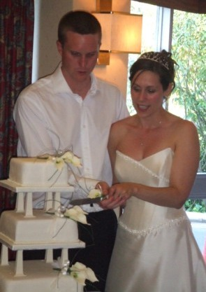 Cheap Marks and Spencers Wedding Cake